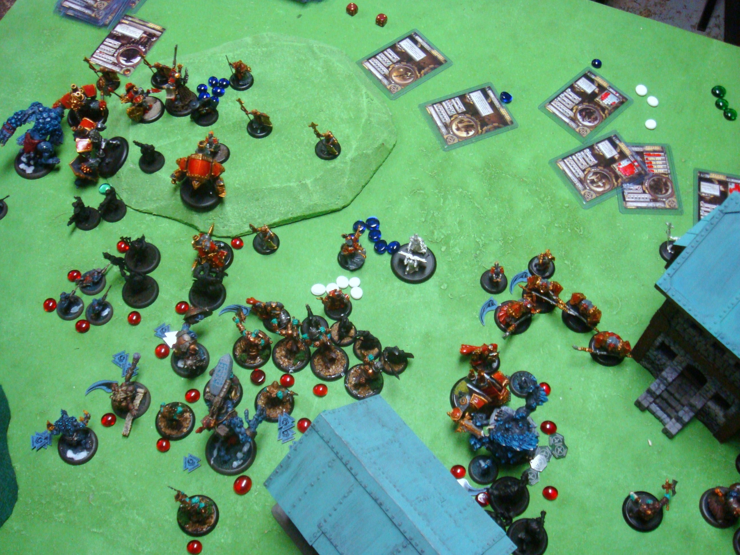 Warmachine Hordes Protectorate of Menoth Trolls 150pt Battle Report - Part 3