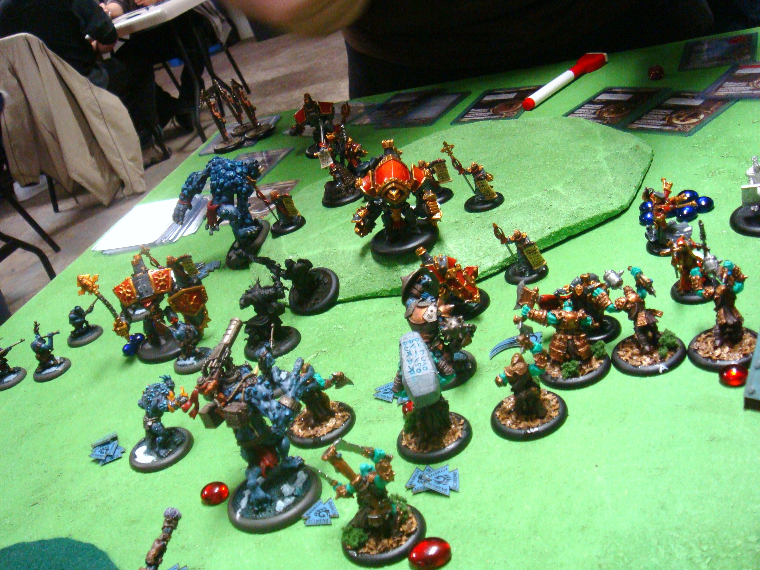 Warmachine Hordes Protectorate of Menoth Trolls 150pt Battle Report - Part 4