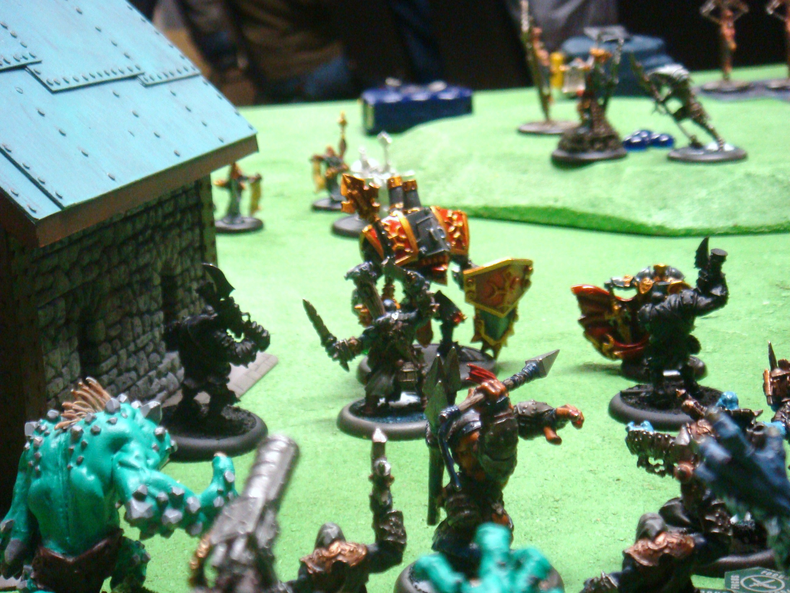 Warmachine Hordes Protectorate of Menoth Trolls 150pt Battle Report - Part 5